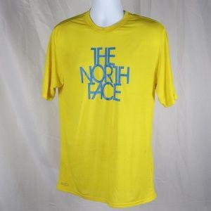 The North Face Yellow Summer Weight Tee Medium